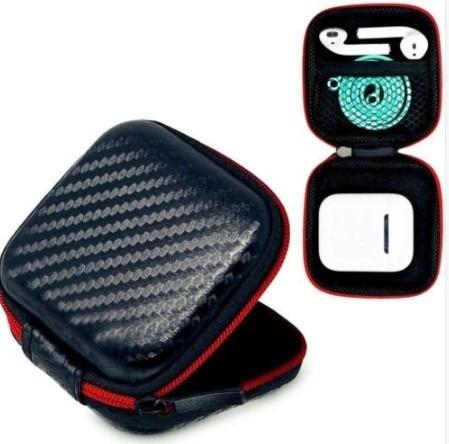 case estojo box bag porta fone de ouvido e airpods