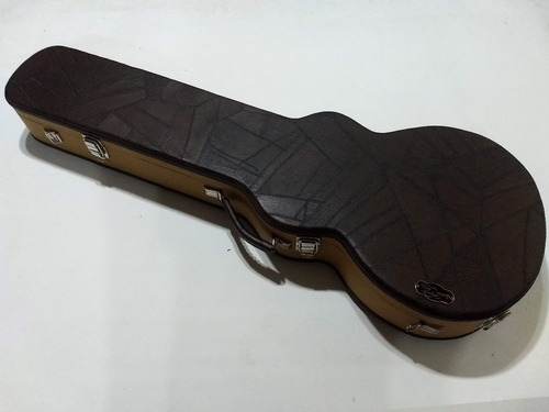 case estojo casa andrade guitarra les paul