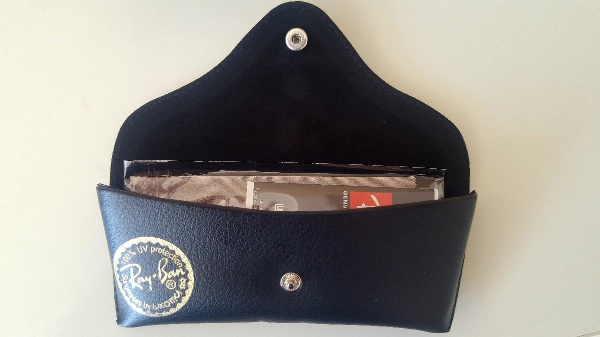 50b410bec Case Estojo Em Couro Ray Ban Original - R$ 59,99 em Mercado Livre