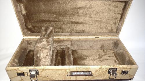 case estojo maleta wc top luxo térmico bicolor 1 cavaco
