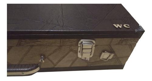 case estojo maleta wc top luxo térmico cavaco bicolor 1