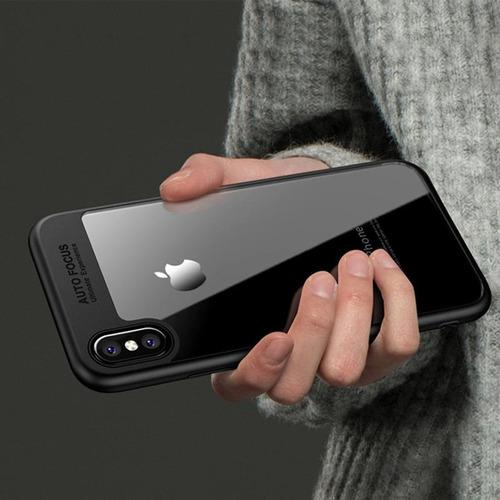 case estuche protector autofocus iphone 6 7 8 plus x xr max