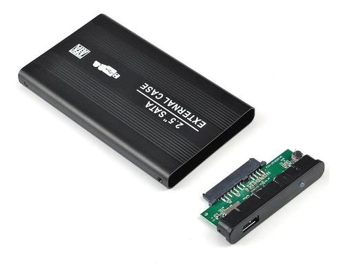case externo 2.5 usb 2.0 - discos sata de notebook gabinete