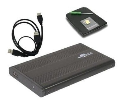 case externo usb 2.0 hd sata notebook 2.5 ultra slim