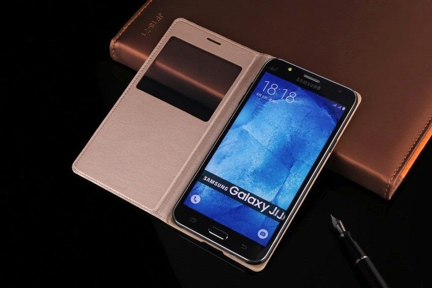 case flip cover celular samsung galaxy j7 j700 tela 5.5 top. Carregando zoom.