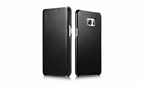 case flip cover icarer luxury - samsung s6 edge plus