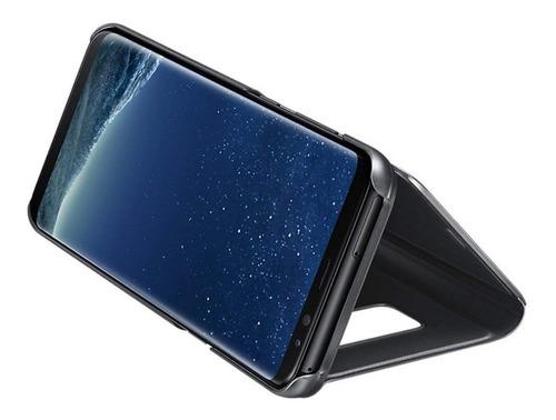 case flip galaxy s8 y plus s-view cover samsung original