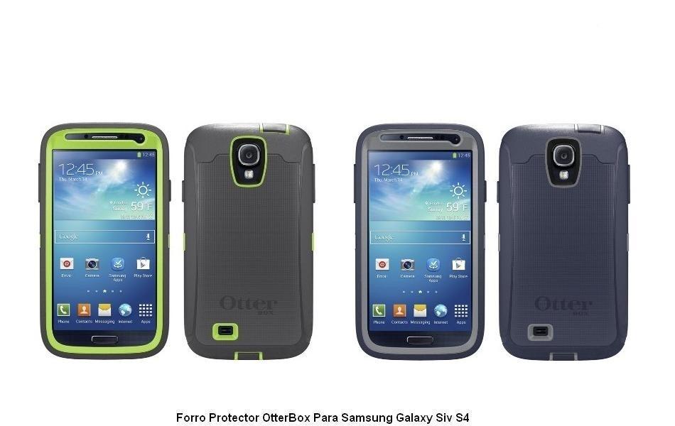 Case Forro Otterbox Defender Para Samsung Galaxy S4