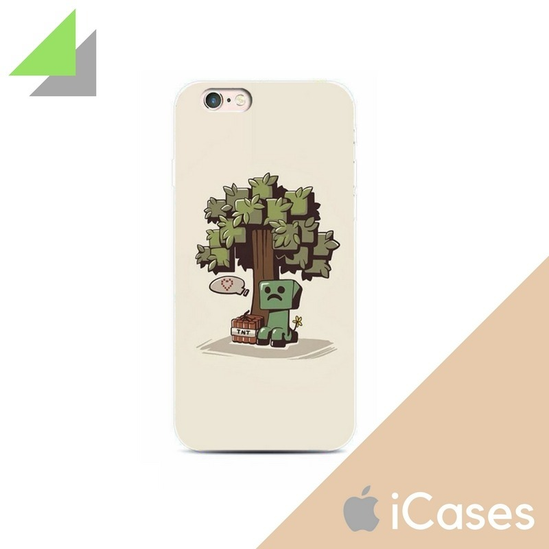 Case Funda Arbol Minecraft Iphone 7 7 Plus 8 8 Plus