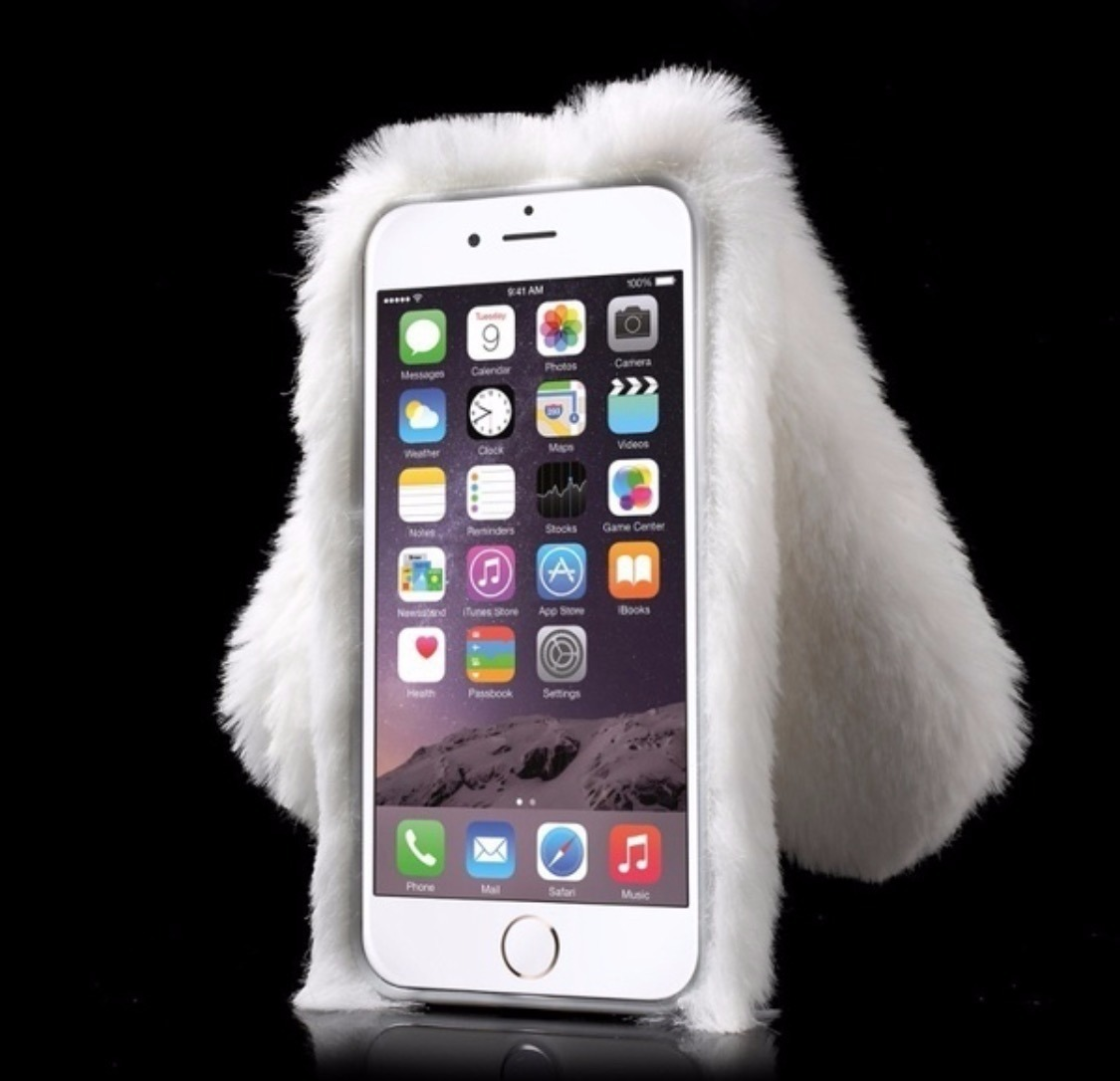 6b2cf4ab59a Case Funda Conejo De Peluche iPhone 6 Plus - $ 400.00 en Mercado Libre