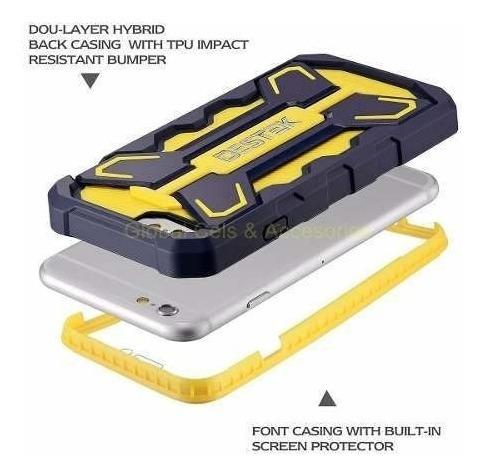 case funda iphone 6 6s destek wing original case c/ mica