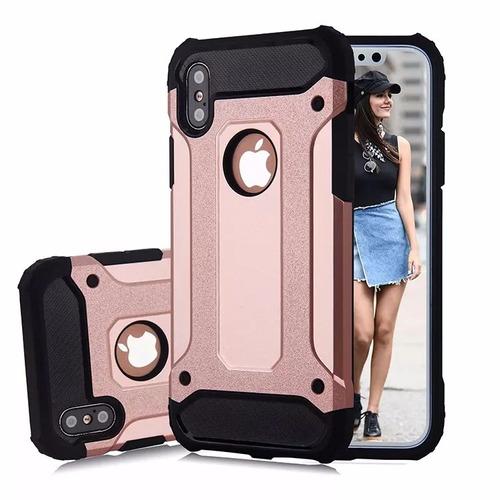 case funda iphone x 8 7 6 y samsung s8 s7 resistente golpes