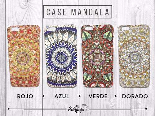 case funda mandala colores para iphone 5,6, 6plus,7 y 7plus