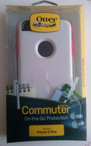 case funda  otterbox original commuter  iphone 6 plus