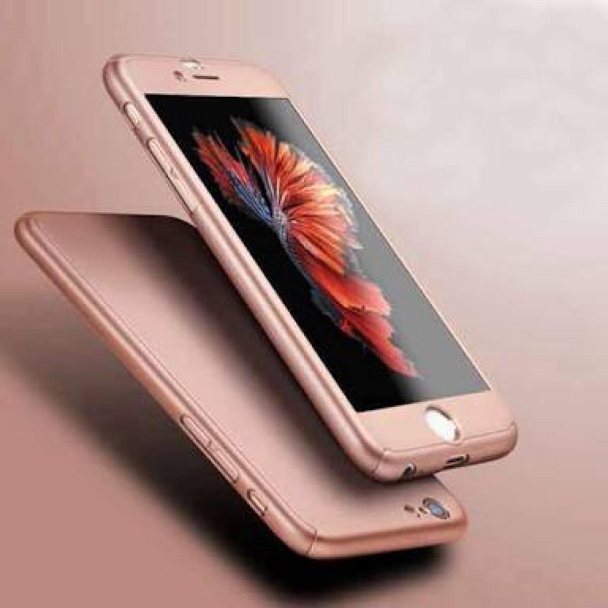 b1b018fe93e case funda protector 360 grados iphone 6 plus apple cristal. Cargando zoom.