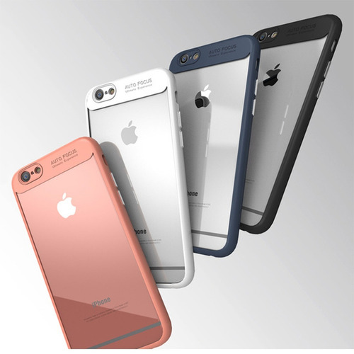 case funda protector iphone 6, 6s, 7, 8 plus, x + regalo
