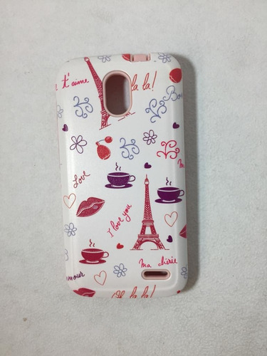 case funda protector resistente celular alcatel pop 2 4.5
