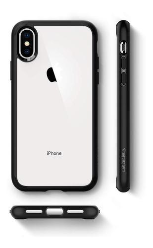 case funda protector spigen ultra hybrid iphone xs max stock