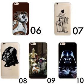 3bc92a185bc Case Funda Star Wars Bb8 Darth Vader Yoda Iphone 6 7 8 Plus