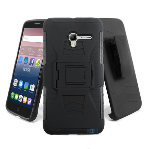 case funda uso rudo con clip tipo survivor alcatel ot5015