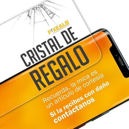 case funda uso rudo protector + cristal htc 10 lifestyle