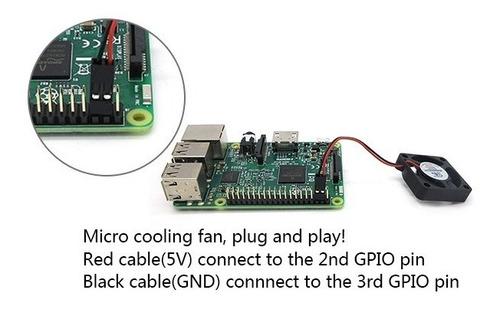 case gabinete acrílico + cooler 5v raspberry pi 3