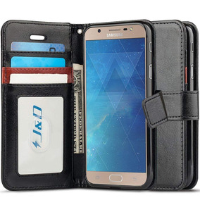 Case Galaxy J7 Max, J & D Rfid Bloqueo Monedero Slim Fit Él