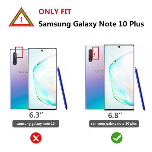 case galaxy note 10 plus 9 8 s10 s9 s8 s10e © gancho y apoyo