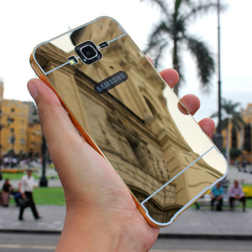 case galaxy note 4, note 5, grand prime 530 borde aluminio