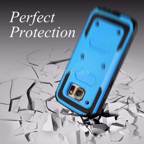case galaxy s6 edge / plus s7 edge gancho tipo supcase