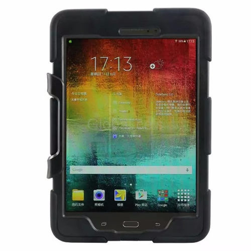 case galaxy tab a 8.0 t350 protector cover extremo + parante