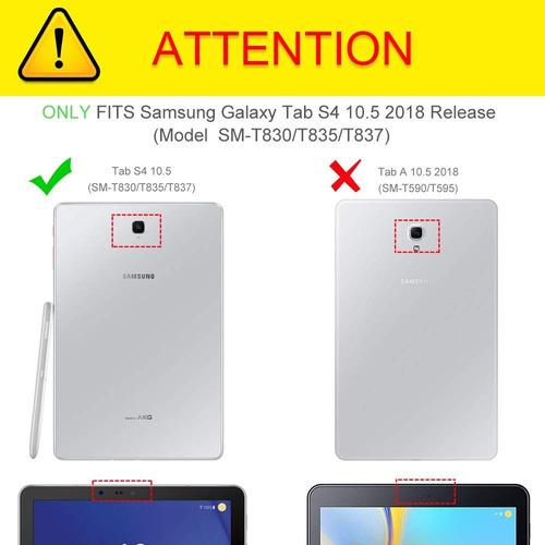 case galaxy tab s4 a 10.5 s5e 10.1 2019 apoyo v h / colgador