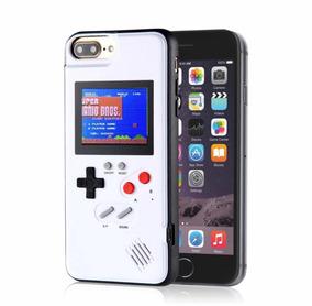 ec448ad6688 Case Gameboy 36 Juegos Con Mario Bros iPhone Del 6 Al Xsmax