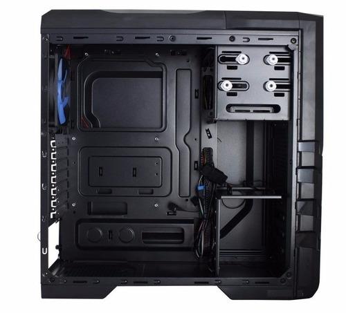 case gamer gamemax g530 atx tapa traslucida sin fuente led