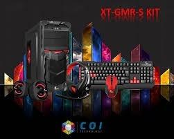 case gamer xtech xt-gmr s combo teclado mouse parlantes audi
