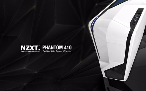 case gamers panthom 410 nxzt white en caja
