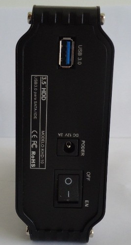 case gaveta externa cooler hd 3,5 sata/ide usb 3.0