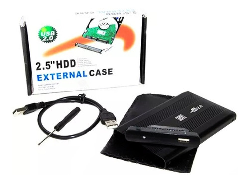 case gaveta externa hd sata  haiz notebook 2.5 hz-313