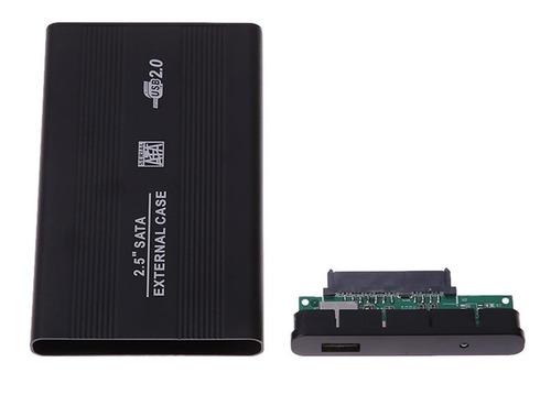 case gaveta externa hd sata notebook 2.5 bolso xbox 360 t2
