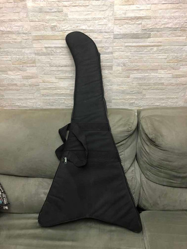 case guitarra flying v acolchoado