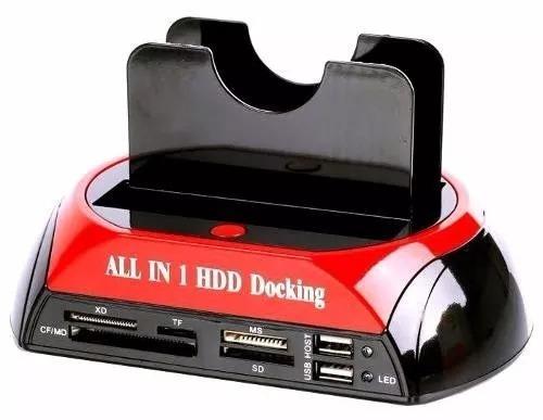 case hd all n1 hdd doking usb 2,0 ide/sata khd