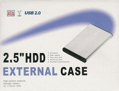 case hd externo hdd 2.5 ssd usb 2.0