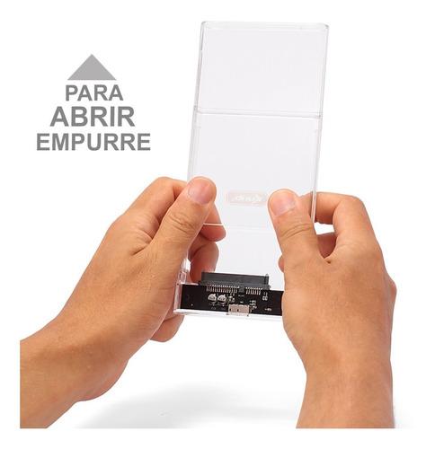 case hd externo notebook gaveta 2,5 kp-hd012 usb 3.0 sata