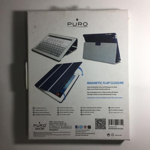 case ipad 2 / 3 rd gen - original de la firma italiana puro