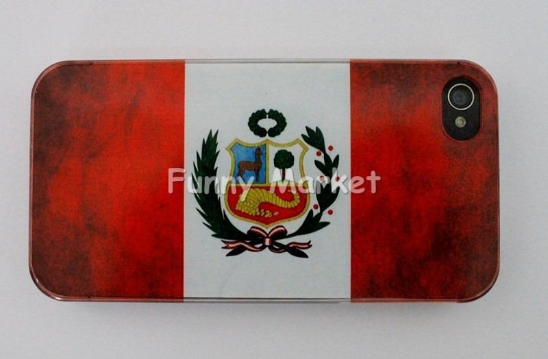 013f370ba7d Case iPhone 4 Carcasa Bandera Peru iPhone 4s 10 Soles - S/ 10,00 en ...