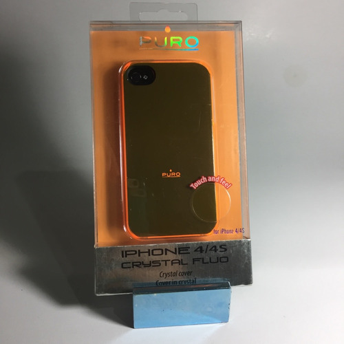 case iphone 4 y 4s - forro celular - by puro- crystal fluo