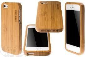 case iphone 5 estampa madeira