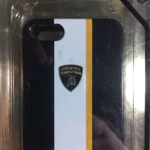 case iphone 5 y 5s - forro - by lamborghini- forro celular