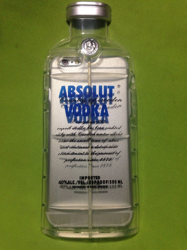 case iphone 6 absolut vodka 3d alcohol tpu no cigarrillo