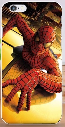 case iphone 6 plus - modelo spiderman civil war